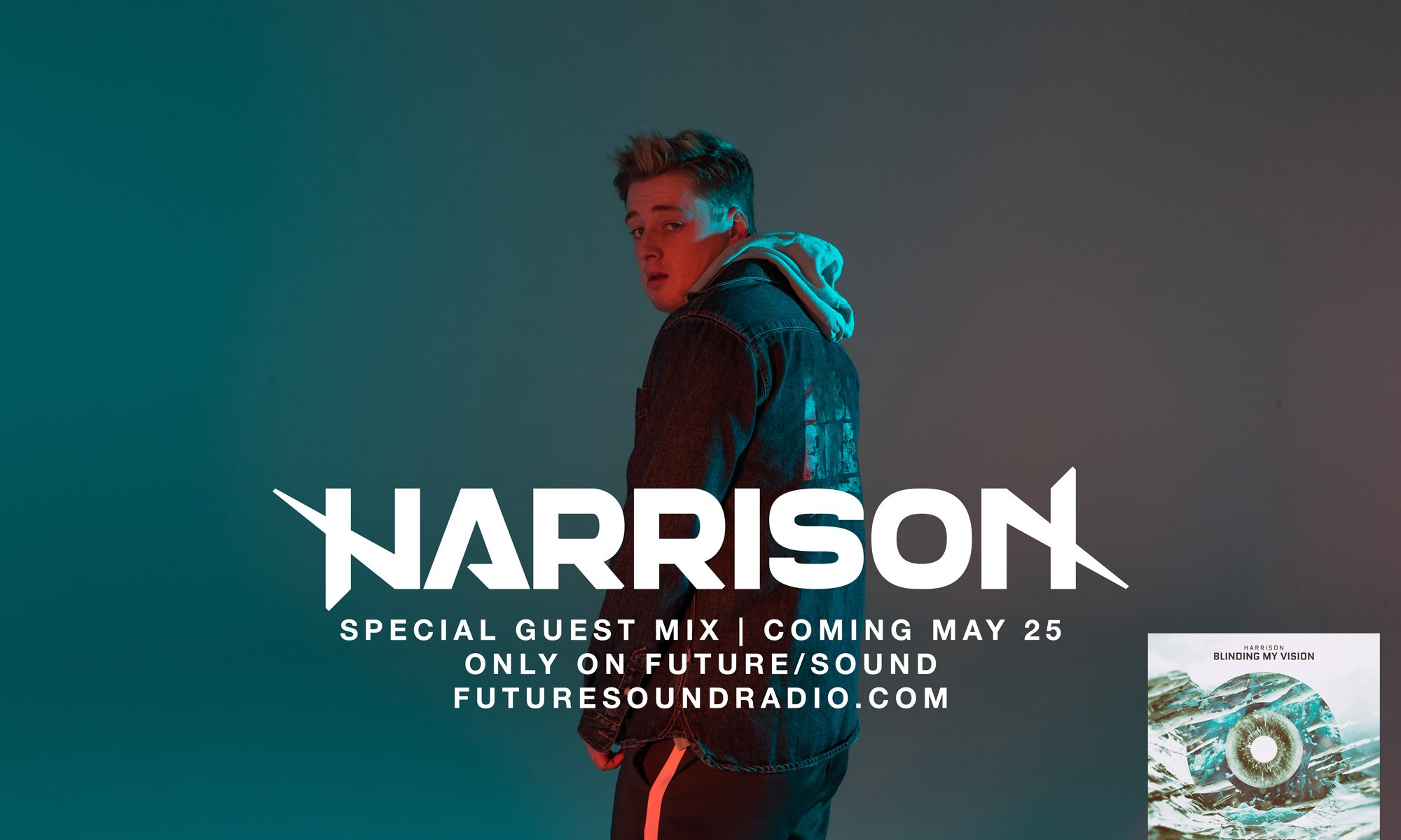 Special Guest Mix from Harrison | Coming May 25, only on FutureSound with CUSCINO